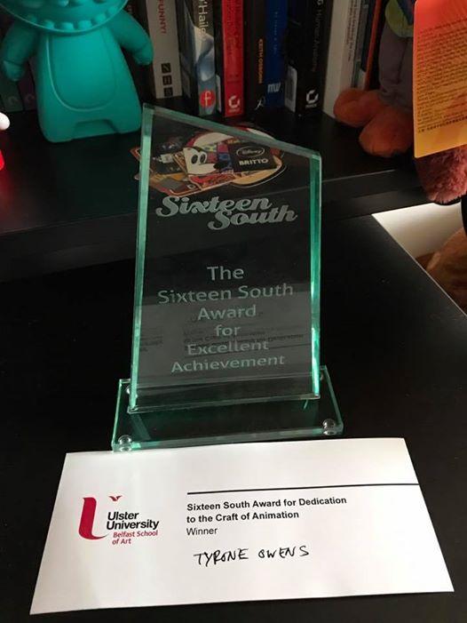 Sixteen South Award